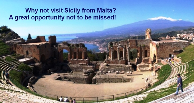 Sicily Tour from Malta